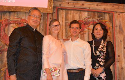 Gründer Fasary: Rocky Tam, Imperial Cosmetics: Marina & Jörg, Gründerin Fasary: Fenfen Liang
